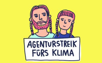 Warum wir als Agentur 4 Wochen lang in den Klimastreik gehen