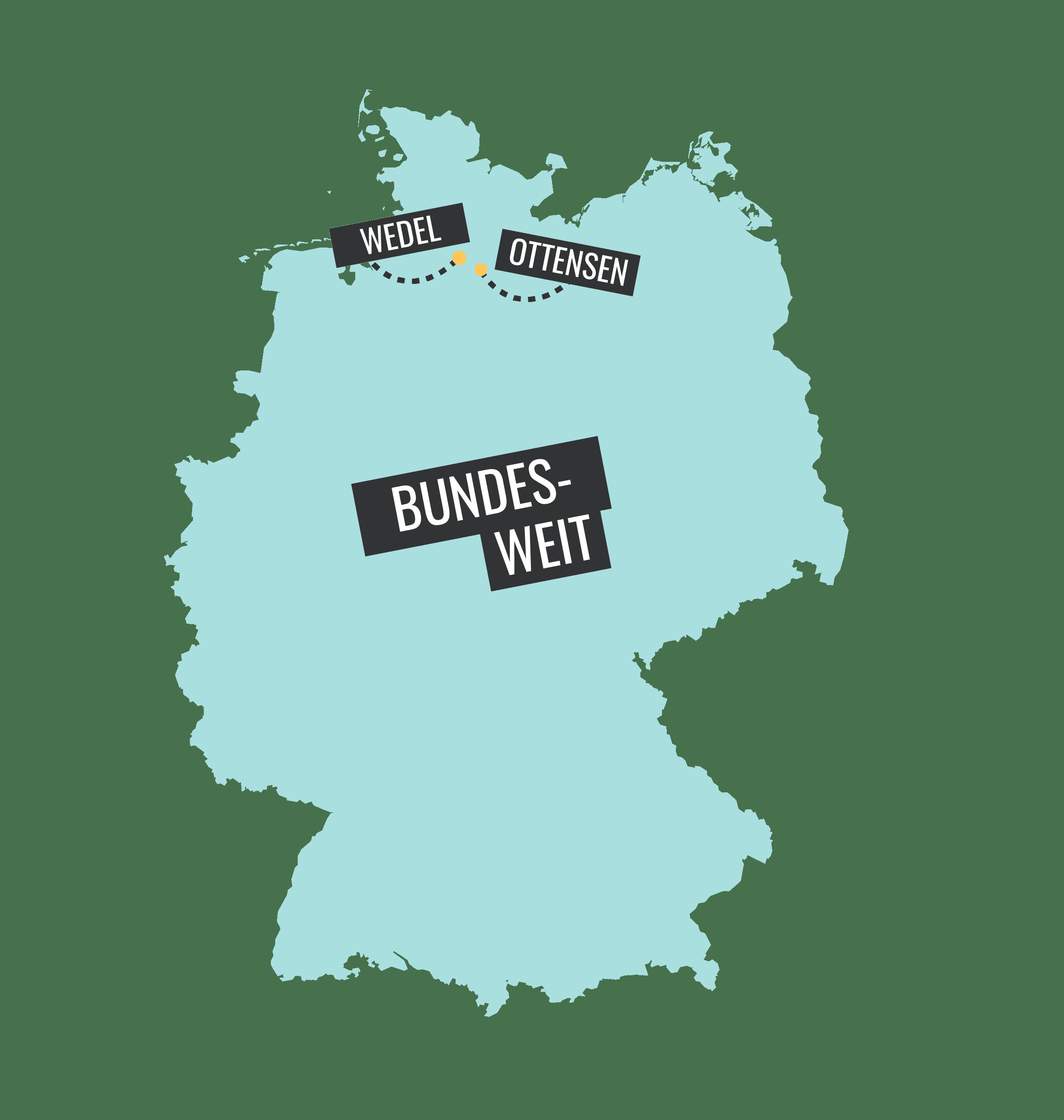 Deutschlandkarte mit Orten der Probeabsttimmung_abstimmung21